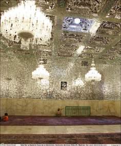 イスラム建築(マシュハド聖地におけるイマム・レザ聖廟の「Khaneh Ebadat(礼拝所)」-61