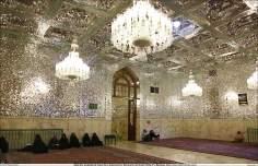 イスラム建築(ラザヴィー・ホラーサーン州のマシュハド市におけるイマム・レザ聖廟の眺め)-60