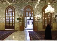 Architettura islamica-Ravaq di Darol Ebade-Vista del santuario di Imam Reza(P)-Mashhad in Iran-87