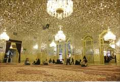 Hall Far al-Huyyah (House of God's evidence) Holy Shrine of Imam Reza (a.s.) - 74