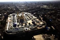 Architecture islamique - une vue sur le sanctuaire de l'Imam Hussein (AS) et Hazrat  Abolfazl (AS) à Karbala-15