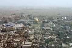Vista aérea do Santuário do Imam Ali (AS)na Sagrada Najaf, Iraque - 4