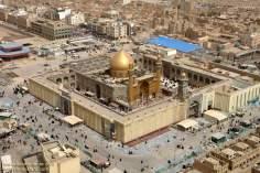 Holy Shrine of Imam Ali (a.s.) in Najaf - Irak