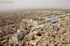 شہر نجف میں حضرت علی (ع) کے روضہ کا منظر، عراق - ۱۹