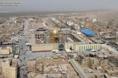 Holy City of Najaf in Irak