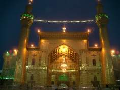 Nocturnal View of Imam Ali's Holy Shrine in Najaf - Irak