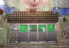 اسلامی تعمیر - امام حسین (ع) کا روضہ اور ضریح مبارک شہر کربلا میں ، عراق - ۷