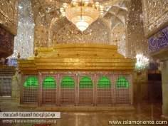 Sanctuaire de l'Imam Hussain (P) à Karbala / Tombe - Lieu de pèlerinage pour des millions de musulmans