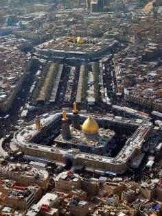 Santuario del Imam Hussain(P) y Abalfadl Al-Abbas(P) en Karbala - 10