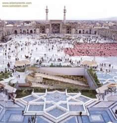 Исламское искусство - Главная площадь храма Имама Резы (мир ему) в Мешхеде , Иран - 9