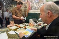 Santuário do Imam Reda (AS), e os vários trabalhos oferecidos aos peregrinos de todo o mundo, Mashad- Irã