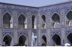Santuário do Imam Reda (AS) e seus mosaicos decorativos - cidade Santa de Mashad, Irã