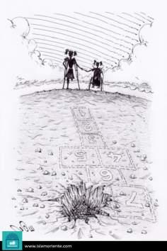 Caricatura - Marcas da guerra