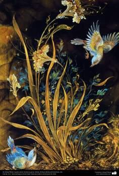 Sin título  Obras maestras de la miniatura persa; Artista Profesor Mahmud Farshchian, Irán -87