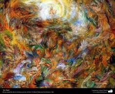 No title - persian painting (Miniature) - by Prof. M. Farshchian (6)