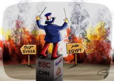 Sin comentario ... (caricatura) - Egipto y Siria
