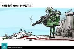 Caricatura - Suspeitas