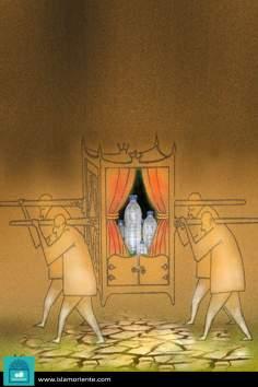 Su señoría el agua (caricatura)