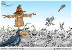 Die UN-Aufsicht auf den Terror! (Karikatur) - Foto
