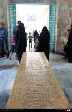 Tumba de Sa'di (1213 - 1291 dC.), el famoso poeta persa. Shiraz - 25