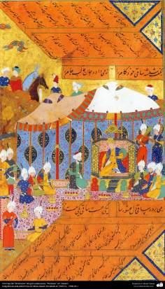 Исламское искусство - Шедевр персидской миниатюры - Шахнаме – книга великого иранского поэта Фирдоуси - Редактор:Гасеми - 2