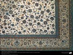 Part of a Persian Carpet made in the city of isfahan – Iran in 1951