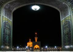 اسلامی فن تعمیر - شہر مشہد میں امام رضا (ع) کا روضہ اور فن کاشی کاری کی سجاوٹ , ایران - ۱۹