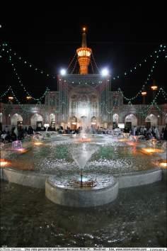 اسلامی فن تعمیر - شہر مشہد میں حرم امام رضا (ع) کے حرم کا صحن ، ایران - ۱۰۹