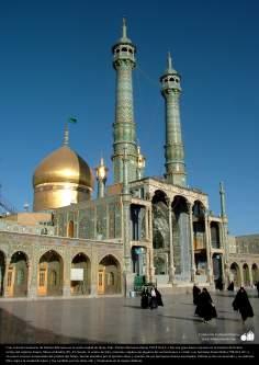 Heiliger Schrein der Fatima Masumeh (Schwester von Imam Reza, 8. Imam der Shia Muslime) in der heiligen Stadt von Qom - Iran