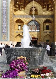 اسلامی معماری - امام رضا (ع) کے مزار کے صحن کا ایک منظر شہر مشہد میں, ایران - ۱۰۸