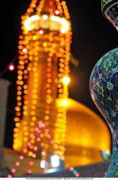 Una vista parcial del santuario del Imam Rida (P) – Mashhad – 25
