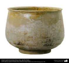 Vasija sin ornamentos; Cerámica Islámica, Siria –  siglo XII o XIII dC. (25)