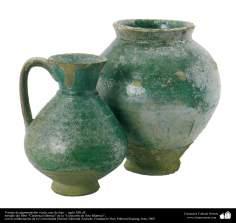 Art islamique - poterie et céramique islamiques - la cruche et le pot de poterie- Est de l'Iran - XIIIe siècle -26