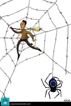 Vida cotidiana del tercer mundo (Caricatura)