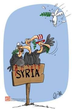 何?シリアにおける平和?(漫画)