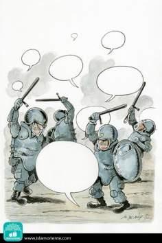 Caricatura - Acabando com as idéias