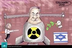 Ambivalencias atómicas (Caricatura)