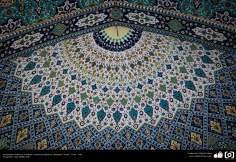 Islamic Architecture, Islamic Tiles and Mosaics, Jameh(central) Mosque, Yazd - Iran. Photography- Sara Mahdi, 2017