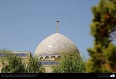 Arte islámico – Azulejos y mosaicos islámicos (Kashi Kari) realizados en paredes, techos y cúpulas del Instituto Académico Cultural Dar-alHadith, Qom, Irán - 105