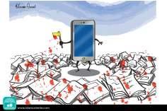 L'assassino del XXI secolo ( Caricatura )