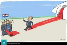 دبلوماسي الاكتفاء الذاتي ( الکاریکاتیر )