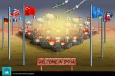 Benvenuti a Siria (Caricatura)