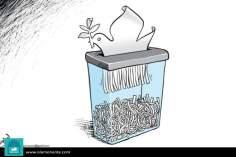Caricatura - Paz