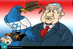 Israel falconry (Caricature)