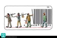Códigos de explotación masiva (Caricatura)