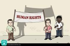 Derechos Humanos (Caricatura)