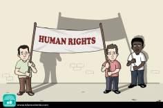Diritto umano (Caricatura)