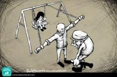 Dignità e resistenza (Caricatura)