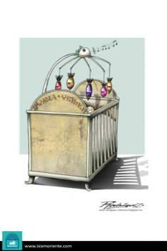 Duérmete niño que ya viene el coco… (Caricatura)