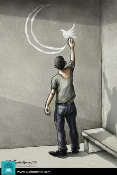 El arte perfidioso (Caricatura)